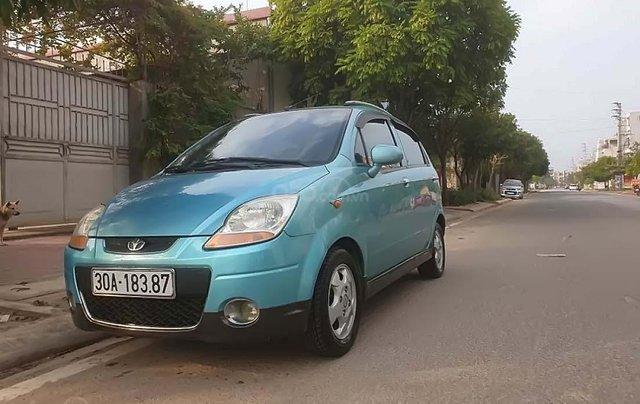 Bán xe Daewoo Matiz 2006, màu xanh lam, xe nhập số tự động, giá tốt0