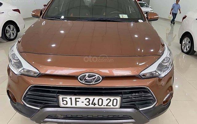 Bán Hyundai i20 Active năm 2015, màu nâu, xe nhập  0