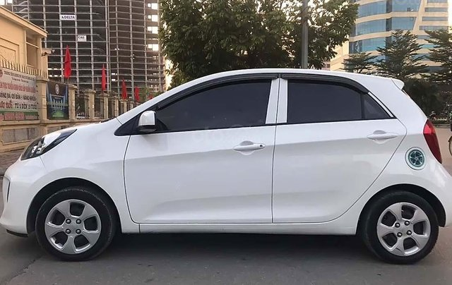 Cần bán Kia Morning EX sản xuất năm 2017, màu trắng, số sàn0