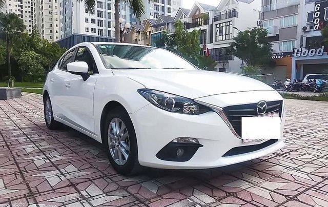 Bán Mazda 3 1.5 AT đời 2017, màu trắng còn mới, 615 triệu0