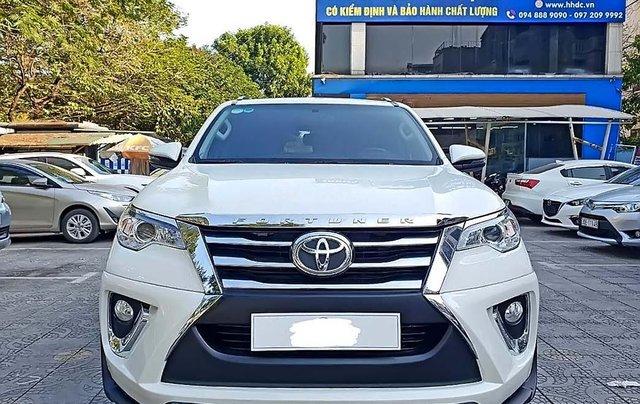Cần bán xe Toyota Fortuner đời 2018, màu trắng, nhập khẩu  0
