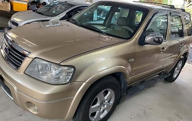 Bán xe Ford Escape 2.3 AT năm sản xuất 2005, màu vàng  0