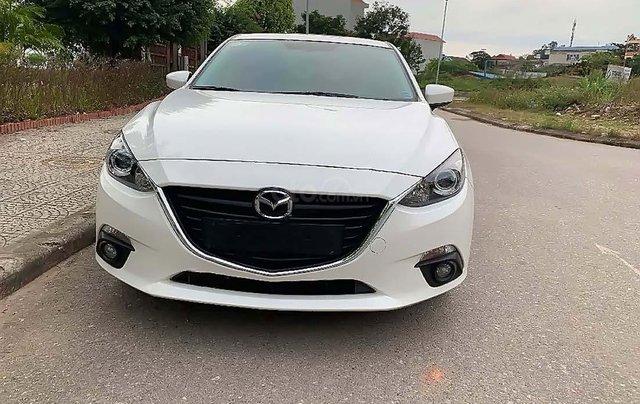Bán xe cũ Mazda 3 1.5 AT đời 2015, màu trắng0