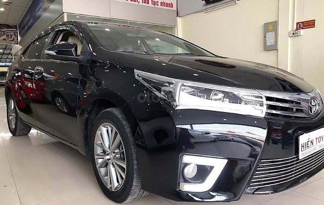 Bán ô tô Toyota Corolla Altis 1.8G AT năm 2017, màu đen như mới0