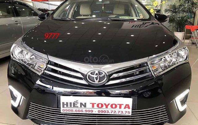 Bán ô tô Toyota Corolla Altis 1.8G AT năm 2017, màu đen như mới4