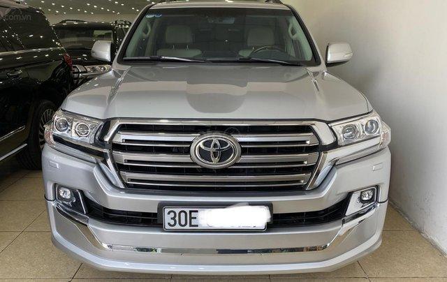 Bán Toyota Land Cruise 4.6, màu bạc 2016, hóa đơn VAT 1,7 tỷ, xe siêu mới, biển Hà Nội1
