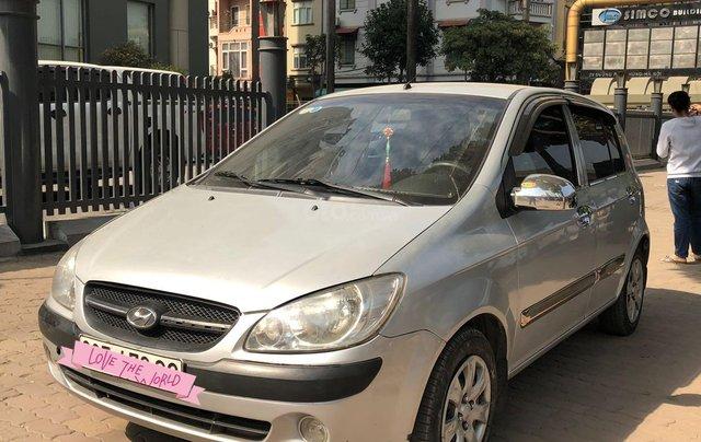 Cấn bán gấp xe Hyundai Getz năm 2010, màu bạc, xe nhập, giá chỉ 185 triệu đồng1