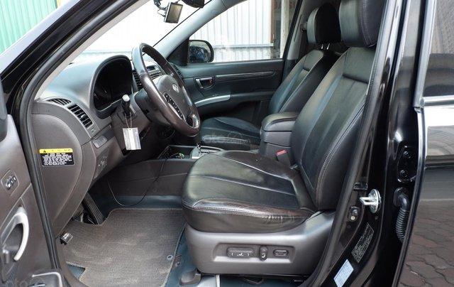 Cần bán Hyundai Santa Fe SLX máy dầu đời mới eVGT đời 2010, xe nhập5