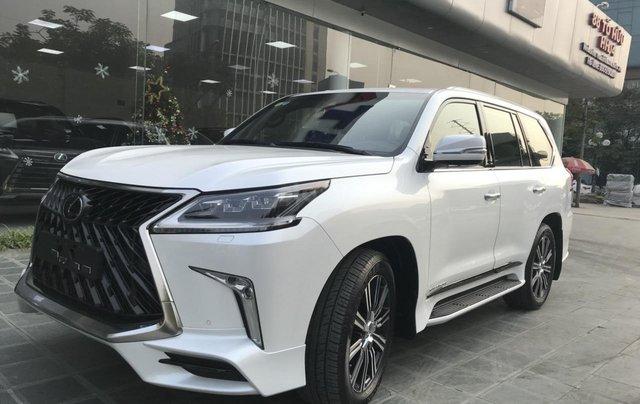 Bán xe Lexus LX 570S Super Sport 2019 siêu lướt, màu trắng, giao toàn quốc, giá tốt, LH 094.539.2468 Ms. Hương3