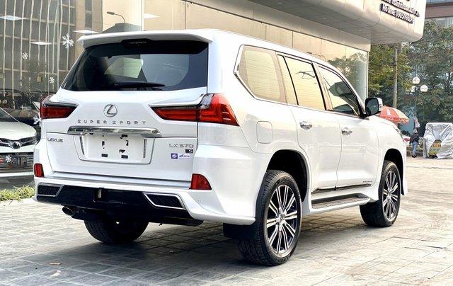 Bán xe Lexus LX 570S Super Sport 2019 siêu lướt, màu trắng, giao toàn quốc, giá tốt, LH 094.539.2468 Ms. Hương18