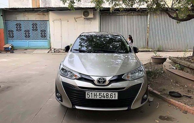 Cần bán gấp Toyota Vios 2019, màu vàng cát, giá tốt0
