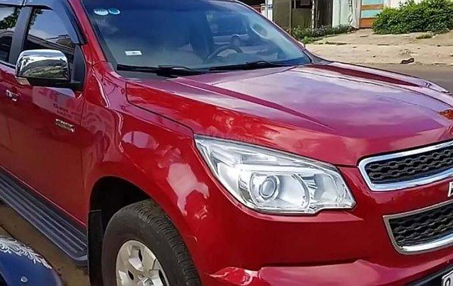 Bán xe Chevrolet Colorado năm sản xuất 2016, màu đỏ, nhập khẩu chính hãng1