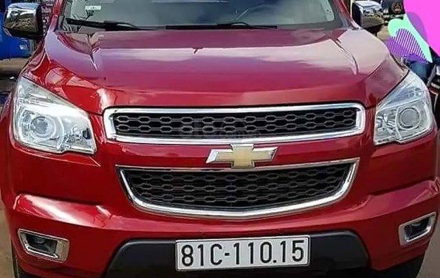 Bán xe Chevrolet Colorado năm sản xuất 2016, màu đỏ, nhập khẩu chính hãng0