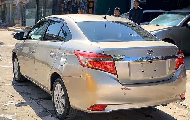 Bán Toyota Vios G sản xuất 2017, màu vàng số tự động, giá chỉ 508 triệu1