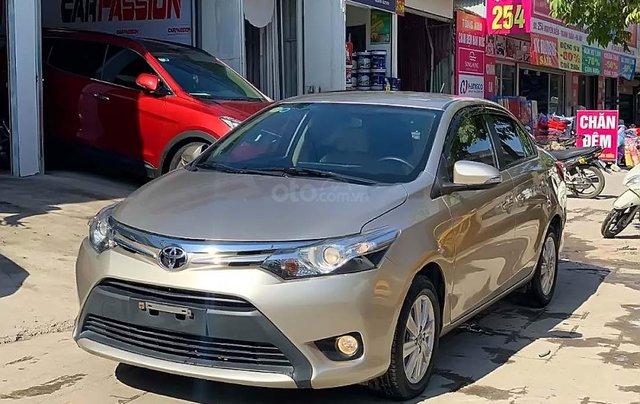 Bán Toyota Vios G sản xuất 2017, màu vàng số tự động, giá chỉ 508 triệu0