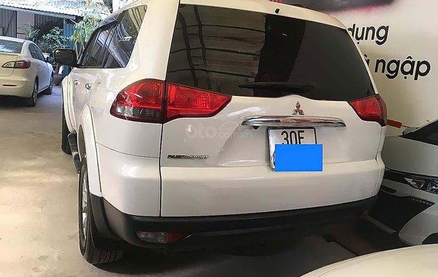 Bán Mitsubishi Pajero Sport năm 2016, màu trắng số sàn1