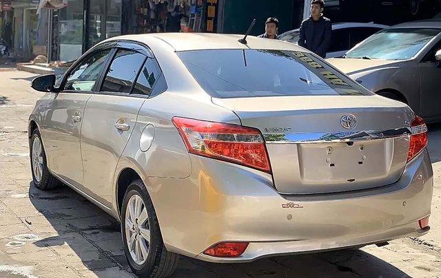 Bán Toyota Vios 2017, màu vàng cát số tự động xe còn mới lắm1