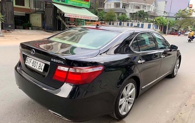 Bán ô tô Lexus LS năm sản xuất 2008, màu đen, xe nhập chính hãng1