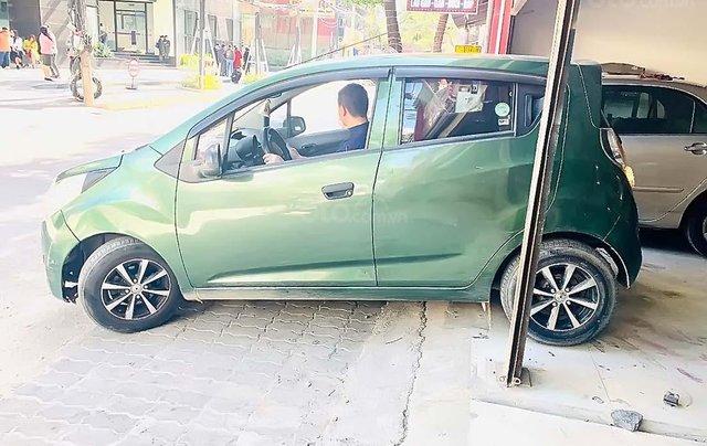 Bán Chevrolet Spark 1.0AT Van đời 2012, màu xanh lam, xe nhập  0