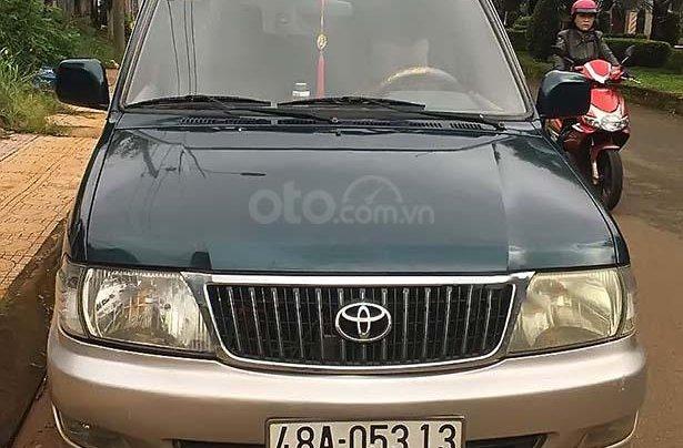 Bán Toyota Zace GL đời 2004, màu xanh lam, giá tốt0