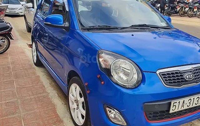Cần bán Kia Morning SX Sport sản xuất năm 2011, màu xanh lam giá cạnh tranh0