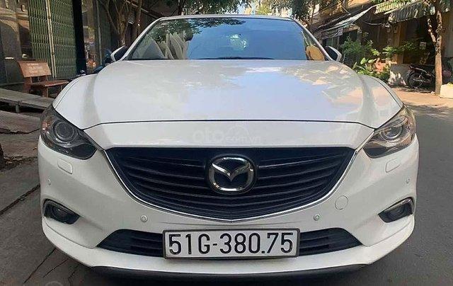 Bán Mazda 6 2.5 năm 2016, màu trắng chính chủ0