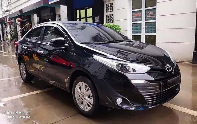 Bán Toyota Vios G AT sản xuất 2019, màu đen số tự động0