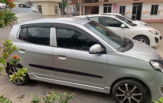 Bán Kia Morning đời 2012, màu bạc xe còn mới nguyên0