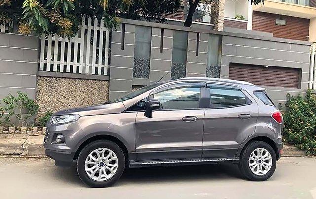 Bán xe Ford EcoSport sản xuất 2016, màu xám xe còn mới lắm0