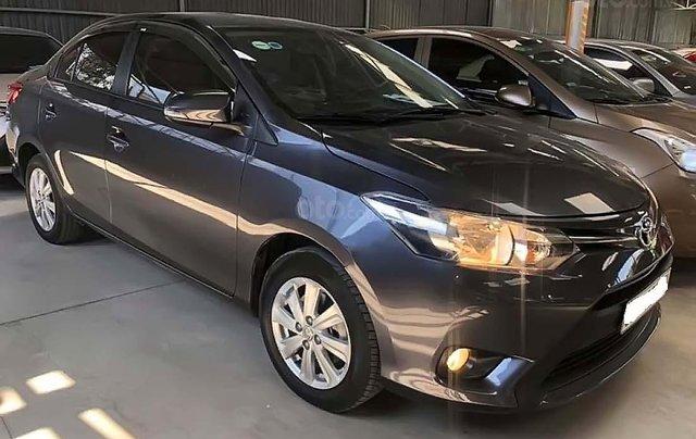 Bán ô tô Toyota Vios 1.5E CVT năm 2017, màu xám số tự động0