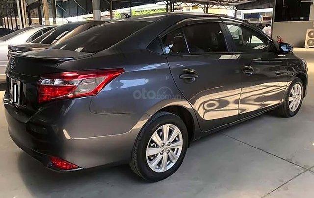 Bán ô tô Toyota Vios 1.5E CVT năm 2017, màu xám số tự động1