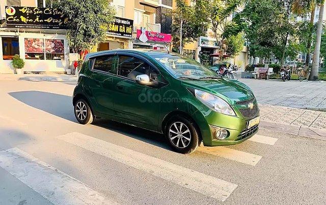 Cần bán Chevrolet Spark Van 1.0AT 2012, màu xanh lục, xe nhập, giá tốt0