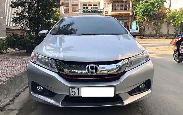 Cần bán Honda City năm sản xuất 2015, màu bạc xe còn mới nguyên3