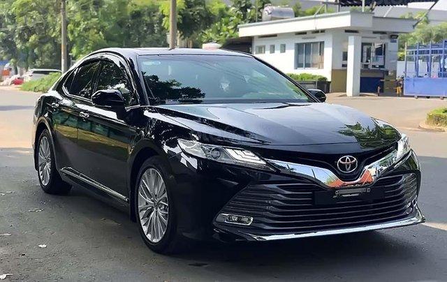 Bán Toyota Camry 2019, màu đen, nhập khẩu chính hãng0