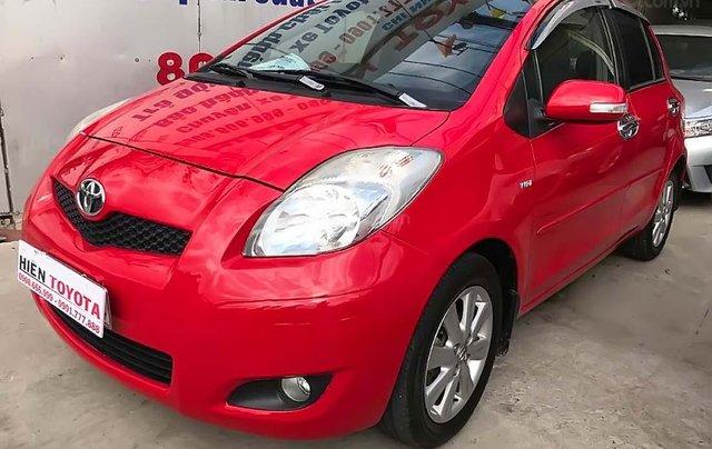 Bán Toyota Yaris sản xuất 2011, màu đỏ, nhập khẩu nguyên chiếc, 430 triệu2
