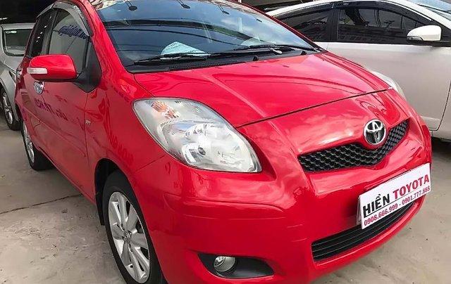 Bán Toyota Yaris sản xuất 2011, màu đỏ, nhập khẩu nguyên chiếc, 430 triệu0