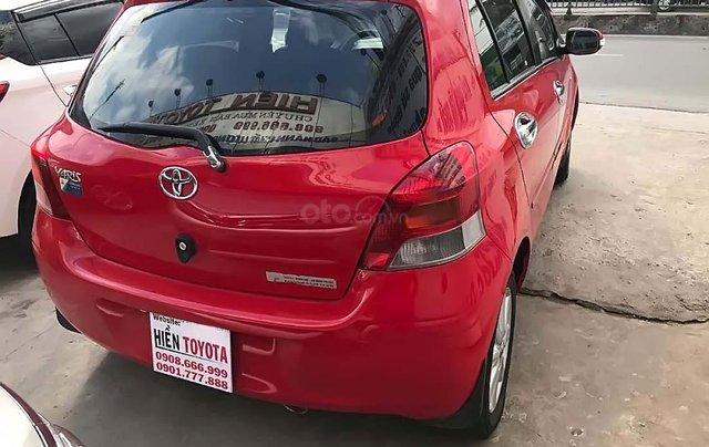 Bán Toyota Yaris sản xuất 2011, màu đỏ, nhập khẩu nguyên chiếc, 430 triệu4
