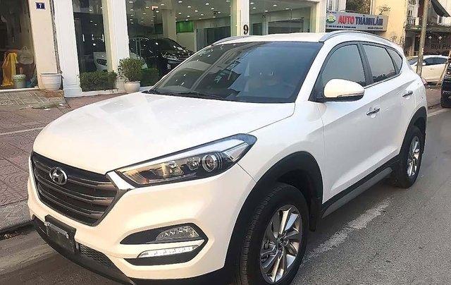 Bán ô tô Hyundai Tucson 2018, màu trắng, giá 775tr0