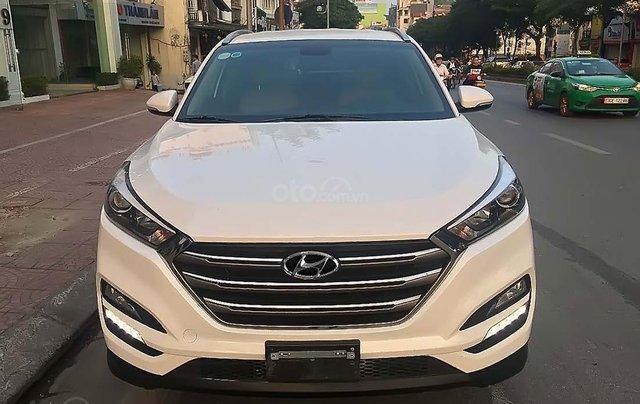 Bán ô tô Hyundai Tucson 2018, màu trắng, giá 775tr2