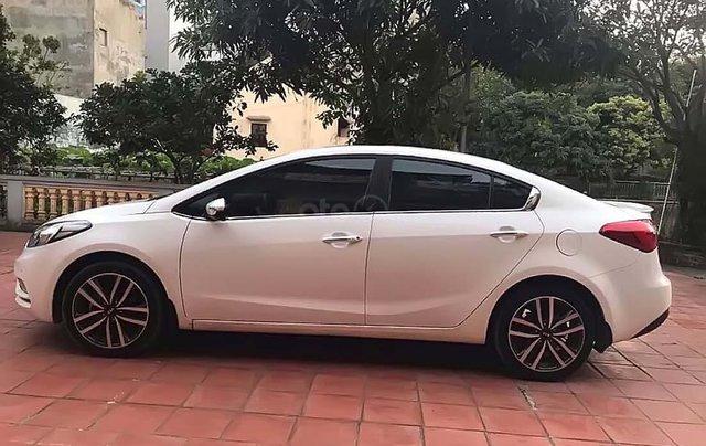 Bán Kia K3 năm sản xuất 2015, màu trắng, 502tr xe còn mới nguyên0