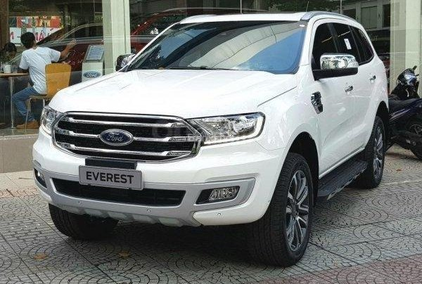 Bán - Ford Everest giá ưu đãi cuối năm, hỗ trợ trả góp thủ tục nhanh , LH 09098502553
