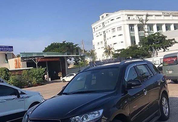 Bán ô tô Hyundai Santa Fe SLX năm 2009, màu đen, xe nhập, giá tốt0
