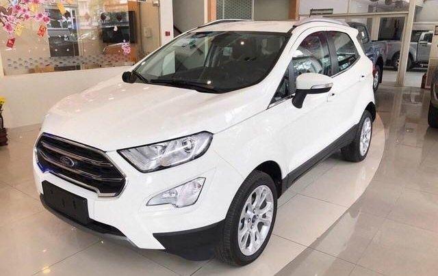 (Xả nốt xe cuối)  Ford EcoSport 1.5MT 2019, màu trắng, giá rẻ