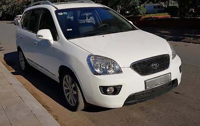 Bán Kia Carens AT sản xuất 2011, màu trắng số tự động, 355tr0
