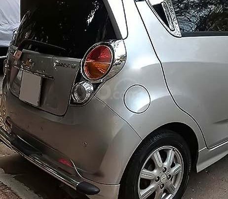 Cần bán lại xe Chevrolet Spark LT 1.2 MT sản xuất 2012, màu bạc còn mới giá cạnh tranh1