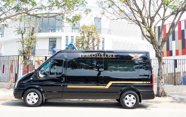 Cần bán Ford Transit Limousine cao cấp đời 2020, màu đen, giá tốt nhất thị trường2