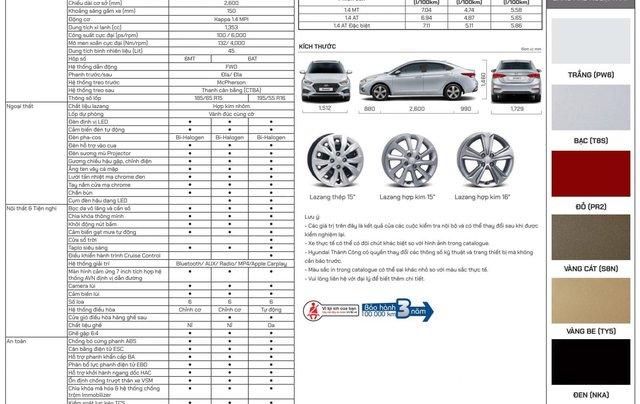 Hyundai Accent 1.4 AT 2020 bản đặc biệt, mua xe giá hời mùa Covid1