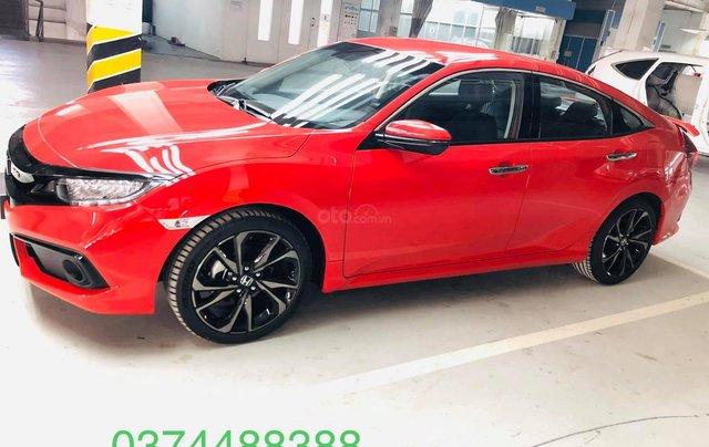 Honda ô tô Hà Nội: Honda Civic RS 2019 giá sales sập sàn, giảm giá lên đến 70tr, giao ngay9