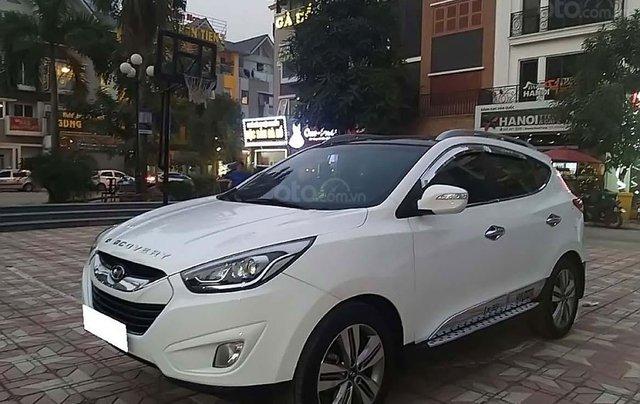 Bán Hyundai Tucson đời 2014, màu trắng, nhập Khẩu Hàn Quốc 0