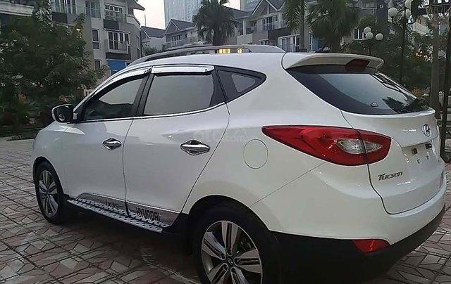 Bán Hyundai Tucson đời 2014, màu trắng, nhập Khẩu Hàn Quốc 1